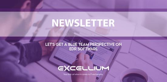 Let's get a blue team perspective on EDR software newsletter
