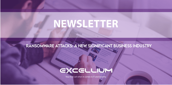 Purple banner for Vulnerability Management newsletter